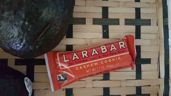 This bar only has two ingredients: cashews and dates. Protein, fruit, and healthy fats!
