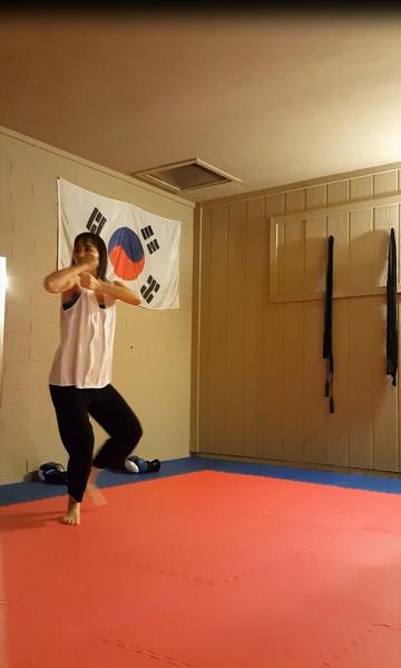 Back fist (prep)