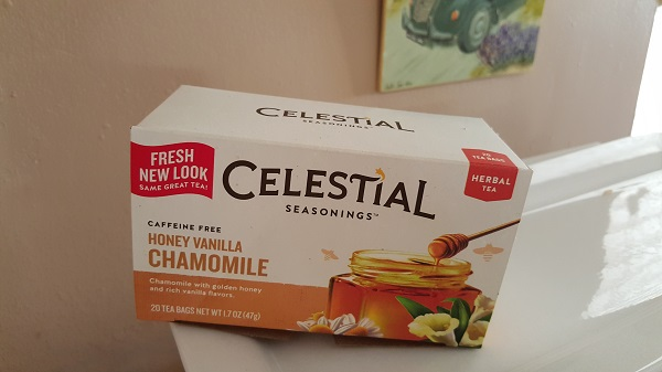 Celestial Seasoning's Honey Vanilla Chamomile tea.