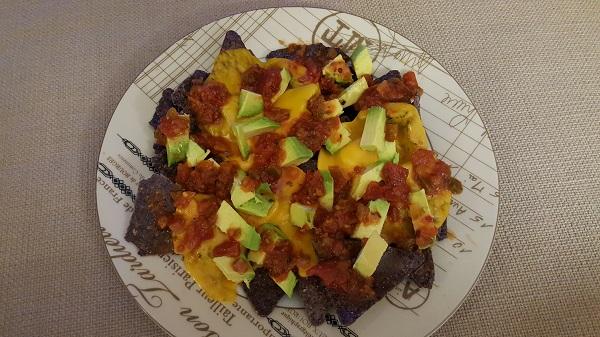 Vegan nachos.