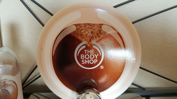 The Body Shop body butter in Shea.