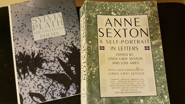 Works of two of my favorite poets (of the many who've committed suicide).