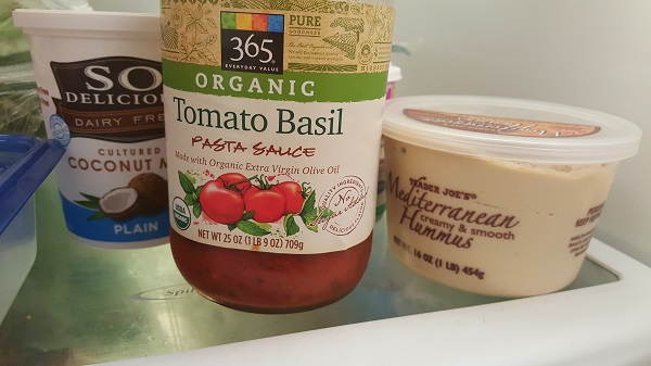365 Organic tomato basil pasta sauce