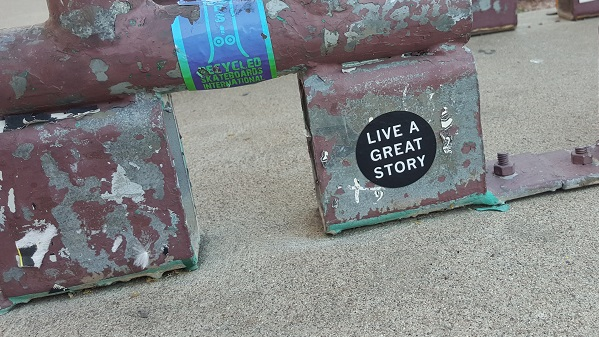 Live a great story (and learn).