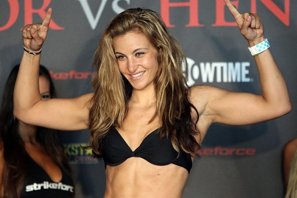 UFC fighter Miesha Tate