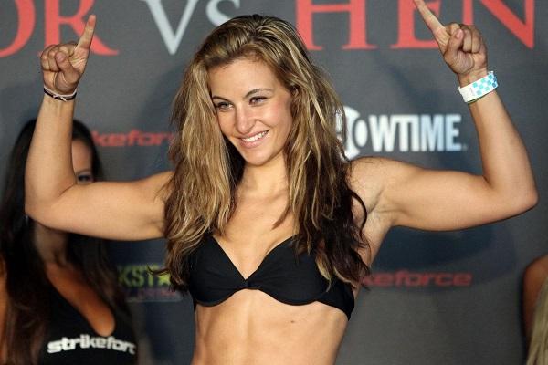 UFC fighter Miesha Tate