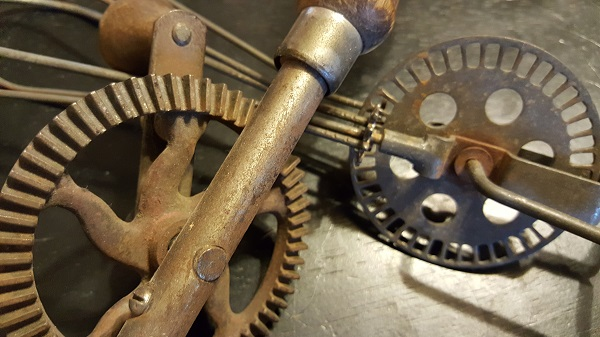 Antique gears