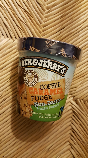 Ben & Jerry's Coffee Caramel Fudge - dairy-free