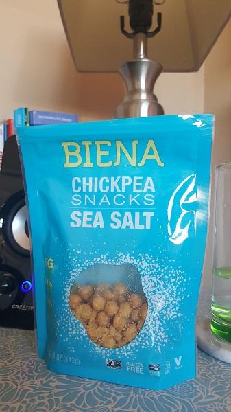Biena Chickpea Snacks with sea salt