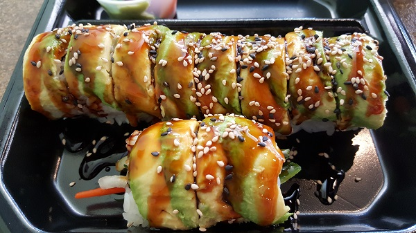Veggie Roll at Yogis Grill