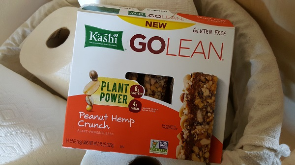 Go Lean Peanut Hemp Crunch bars