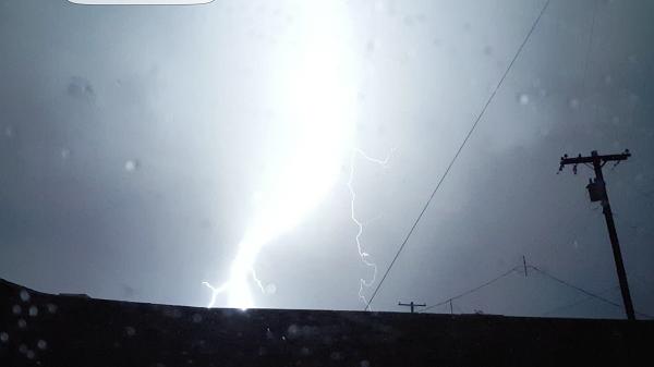 Lightning on a mission.
