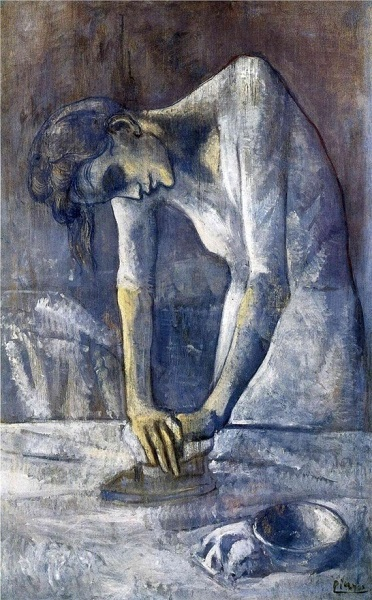 """Woman Ironing,"" Pablo Picasso, 1904"