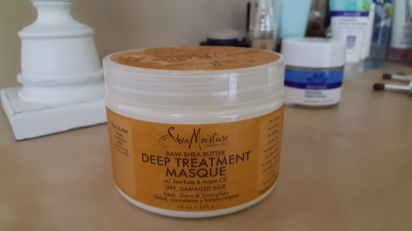 Shea Moisture raw shea butter deep treatment hair masque