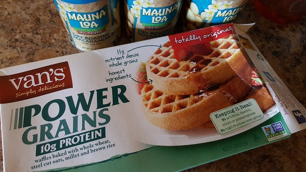 Van's power grain waffles
