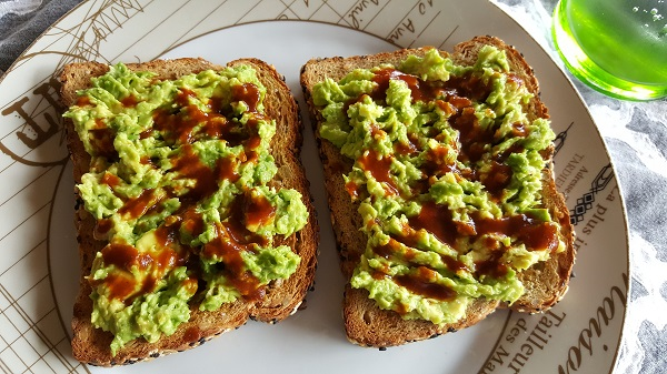 Chipotle Tabasco sauce (on avocado toast)