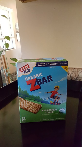 Clif Kid Organic Z Bar (iced oatmeal cookie)