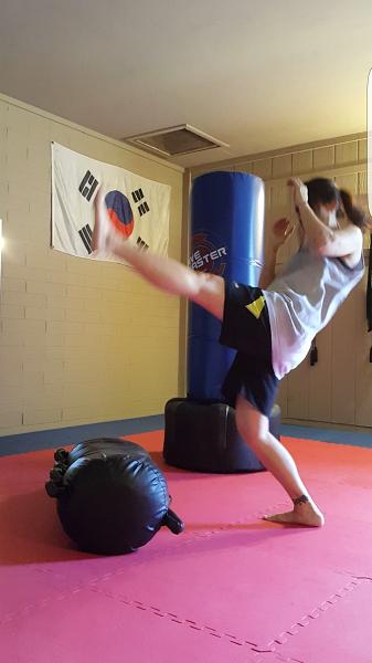 Teep (front push kick)