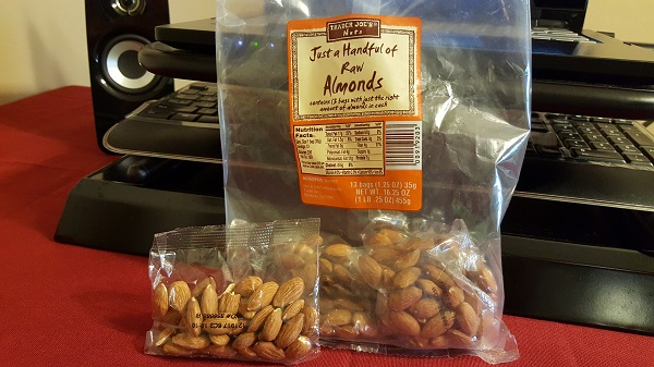 Trader Joe's Just a Handful of Raw Almonds