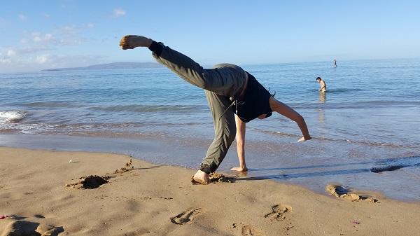 Aú (Capoeira cartwheel)