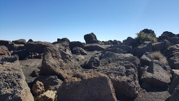 Haleakala under a blue sky...