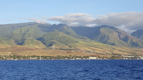 Lahaina from the boat.