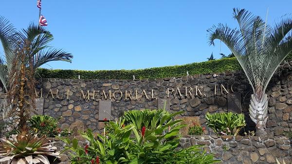 Maui Memorial Park in Wailuku
