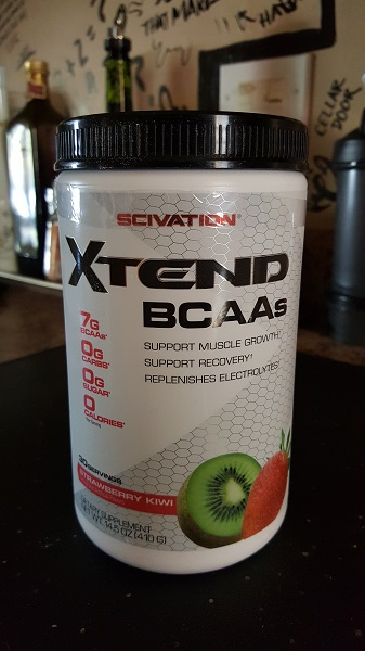 Scivation Xtend BCAAs (strawberry-kiwi)