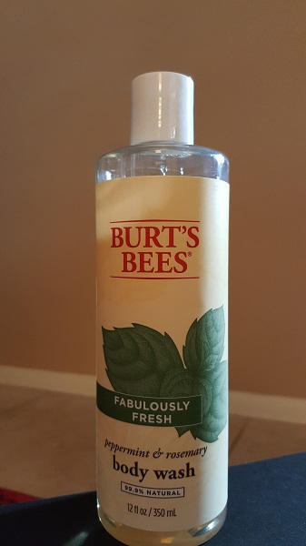 Burt's Bees Fabulously Fresh peppermint and rosemary body wash