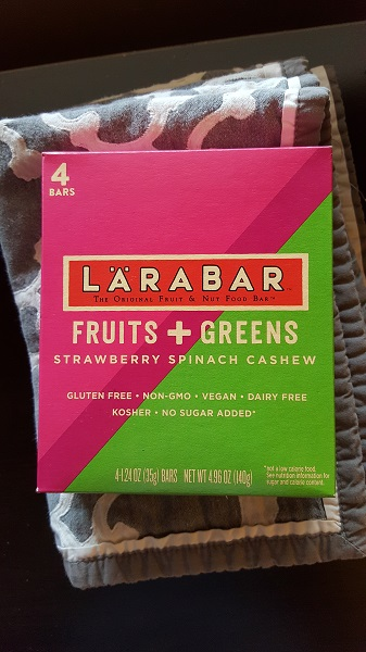 Larabara Fruits and Greens (strawberry spinach cashew)
