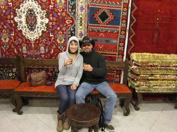 The sweater in Casablanca, Morocco